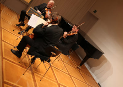 Orff-Zentrum München; Carl Orff; OZM;Werke für Streichtrio von Orff, Toch, Aperghis und Mozart
