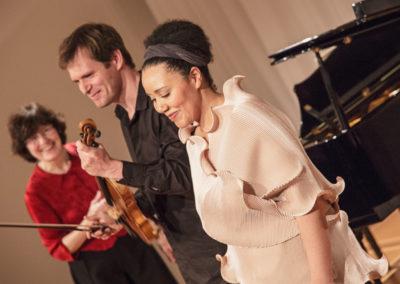 Konzert: Lieder von Robert Schumann und Carl Orff,  Kammermusik von Franz Schubert