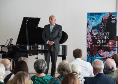 Orff-Zentrum München; Carl Orff; OZM; Präsentation Mozartwoche 2018, Stiftung Mozarteum Salzburg