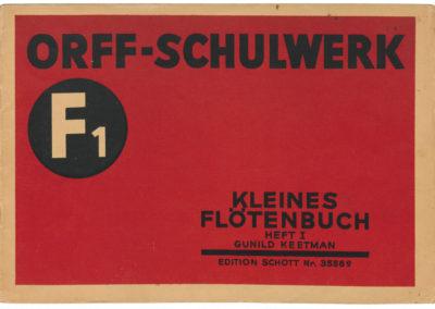 F1 – Kleines Flötenbuch I