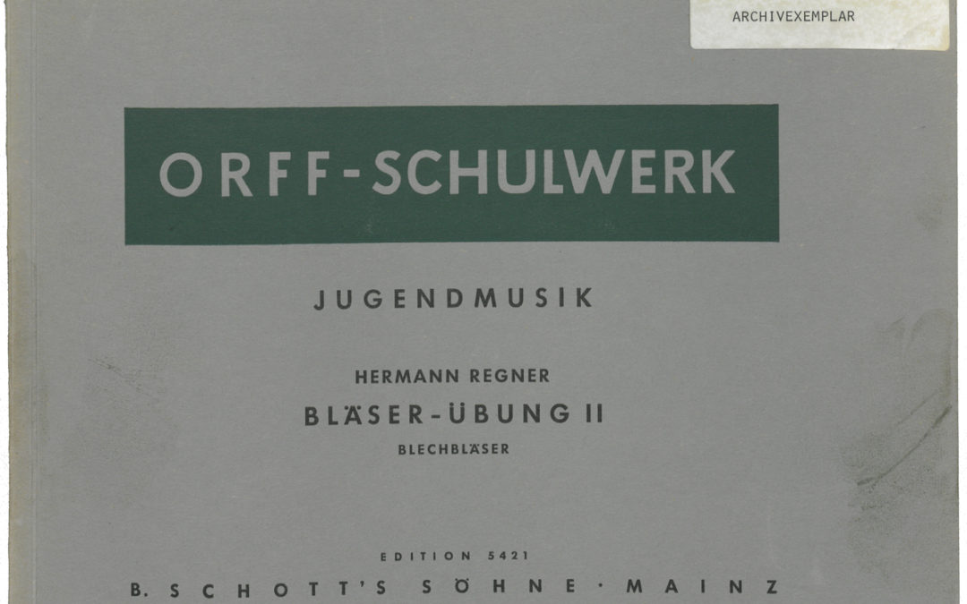 Jugendmusik – Bläser-Übung II