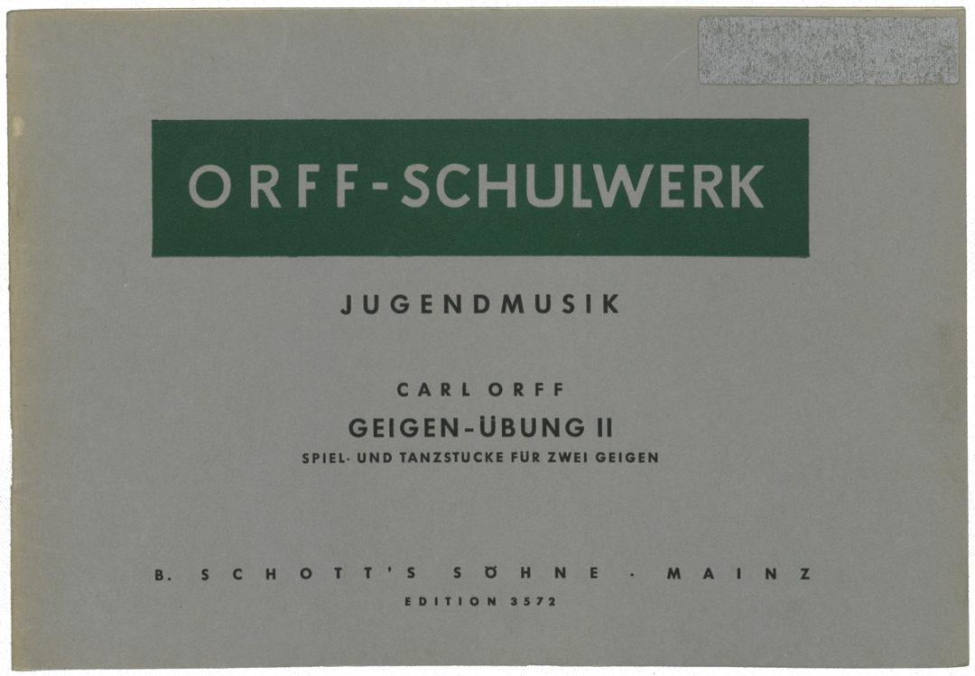 Jugendmusik Geigen-Übung II