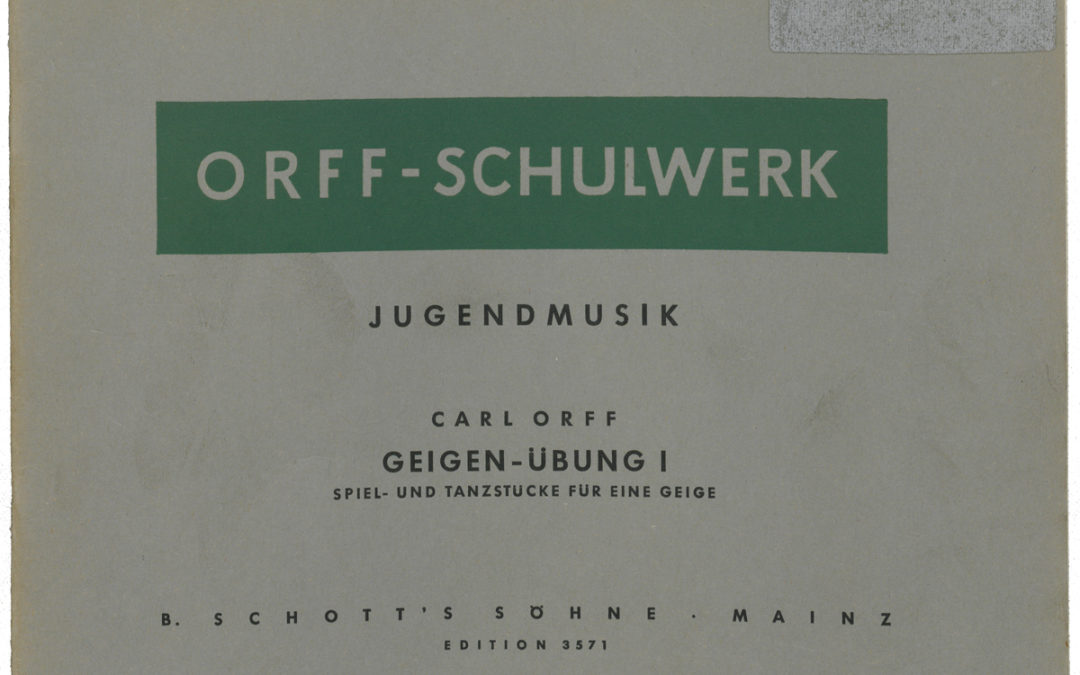 Jugendmusik – Geigen-Übung I