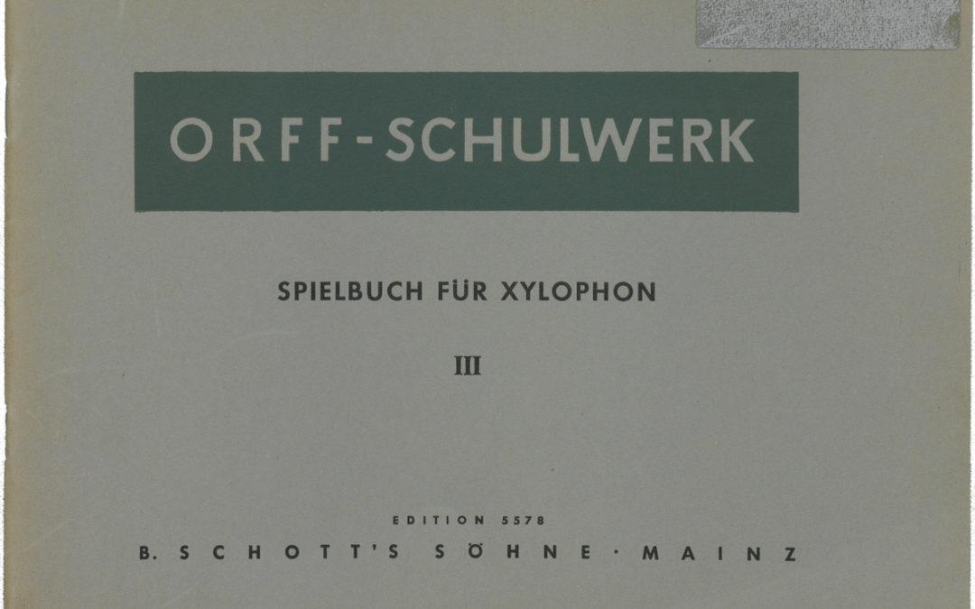 Jugendmusik – Spielbuch für Xylophon III