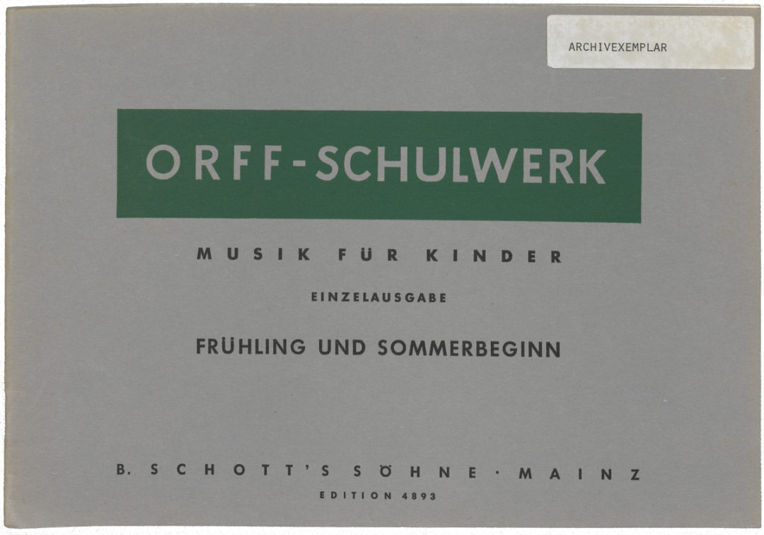 Musik für Kinder – Frühling und Sommerbeginn