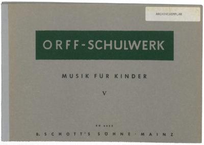 Musik für Kinder – Bd. V: Moll: Dominanten