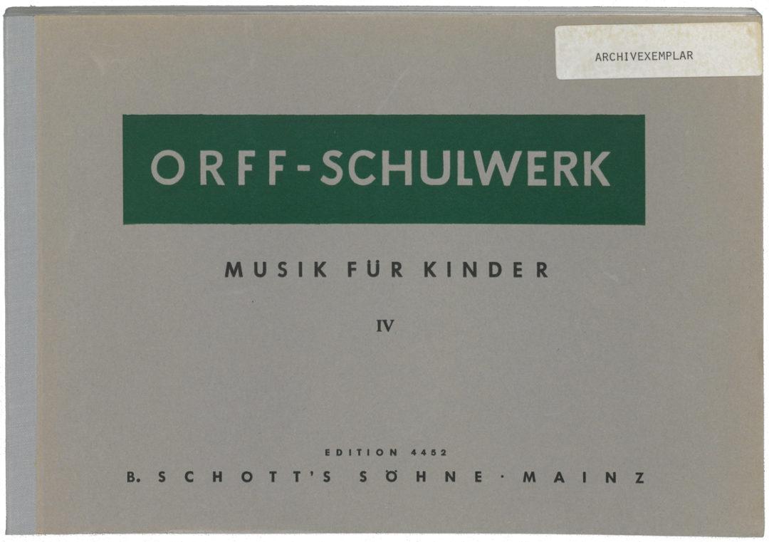 Musik für Kinder – Bd. IV: Moll: Bordun – Stufen