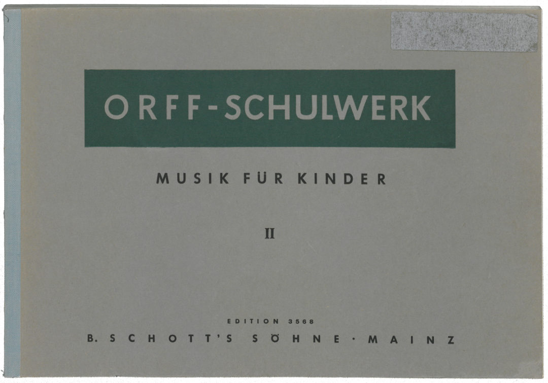 Musik für Kinder – Bd. II: Dur: Bordun – Stufen