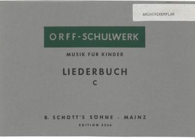 Musik für Kinder – Liederbuch – C: Oberstufe