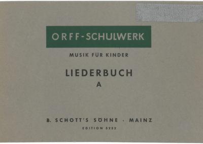 Musik für Kinder – Liederbuch – A: Unterstufe