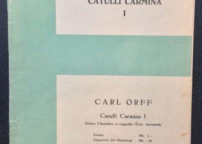 Catulli Carmina I
