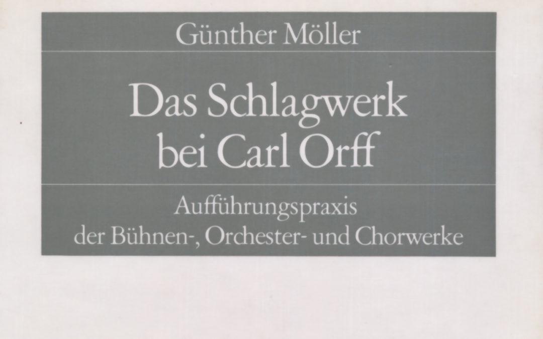 Das Schlagwerk bei Carl Orff