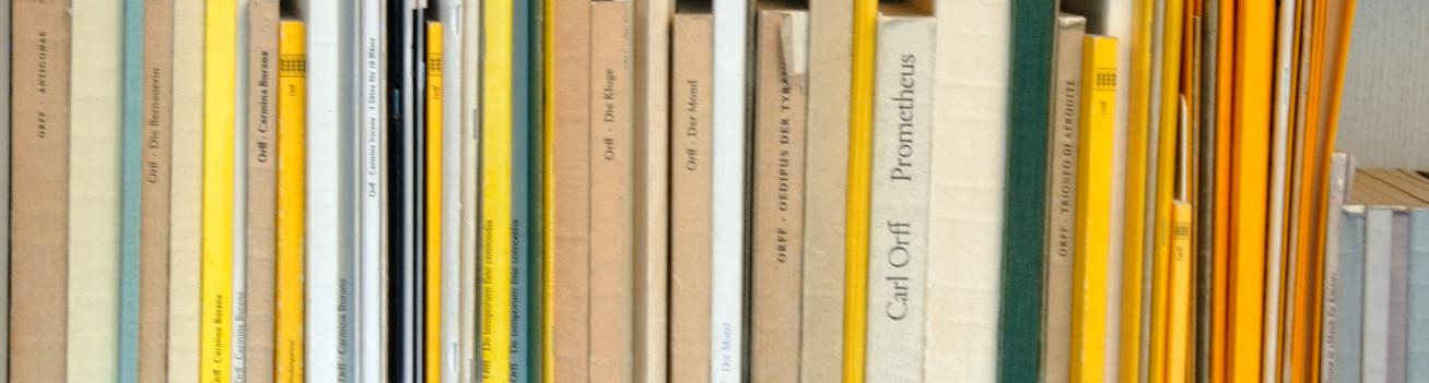 Orff-Zentrum München; Carl Orff; OZM; Hintergrundbild, Bibliothek