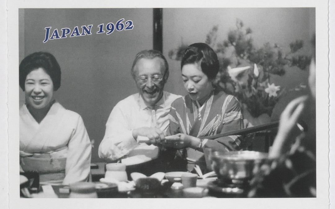 Orff-Zentrum München; Carl Orff; OZM; Carl Orff auf Reisen, Postkarte, Japan