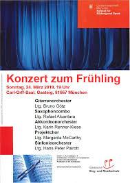 Carl Orff Carmina Burana konzertant 23.03.2019 Deutschland München