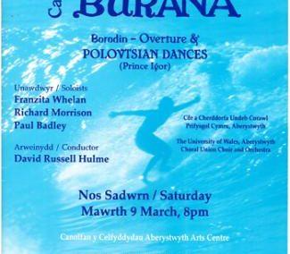 Carmina Burana (09.03.2019 / England / Aberystwyth)