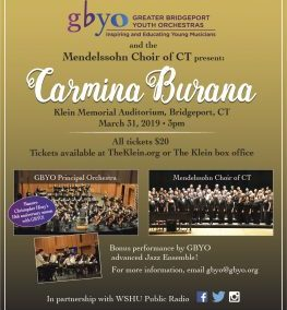 Carmina Burana (31.03.2019 / USA / Bridgeport, CT)