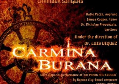 Carmina Burana (12.04.2019 / USA / Vermillion, SD)