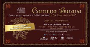 Carl Orff Carmina Burana Mexiko Mexico City 07.05.2019