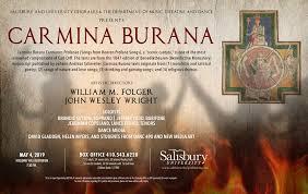 Carmina Burana (04.05.2019 / USA / Salisbury, MD)