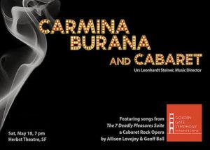 Carl Orff Carmina Burana USA San Francisco, CA 2019