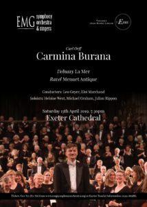 Carl Orff Carmina Burana England Exeter 2019