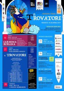 Carl Orff Carmina Burana Italien Rovereto 2019