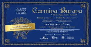 Carl Orff Carmina Burana Mexiko 2019
