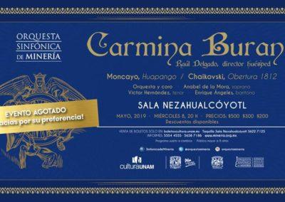 Carmina Burana (08.05.2019 / 07.05.2019 / Mexiko / Mexico City)