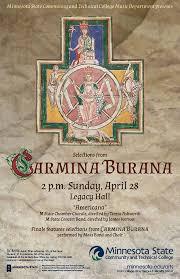 Carl Orff Carmina Burana USA Fergus Falls, MN 2019