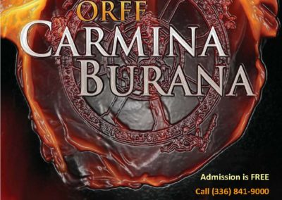 Carmina Burana (29.04.2019 / USA / High Point, NC)