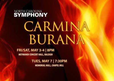 Carmina Burana (04.05.2019 / 03.05.2019 / USA / Raleigh, NC)