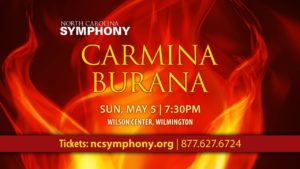 Carmina Burana USA Wilmington, NC 2019