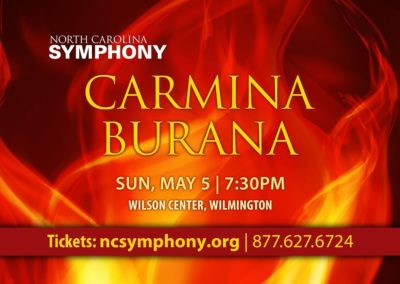 Carmina Burana (05.05.2019 / USA / Wilmington, NC)