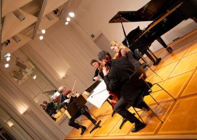 Stefan Kirpal, Gundula Kirpal, Alba Gozález i Becerra, Stepan Ristau (Diogenes Quartett)