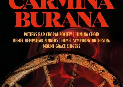 Carmina Burana (25.01.2020 / konzertant / Europa / England / Potters Bar)