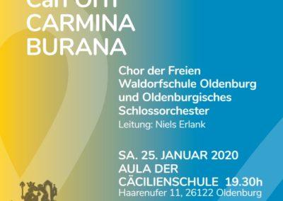 Carmina Burana (25.01.2020 / konzertant / Europa / Deutschland / Oldenburg)
