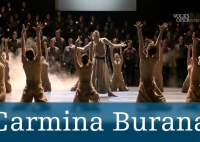 Carmina Burana (28.01.2020, 01.02.2020, 08.02.2020, 14.02.2020, 20.02.2020, 23.02.2020, 27.02.2020 / szenisch / Ballett / Europa / Österreich / Wien)