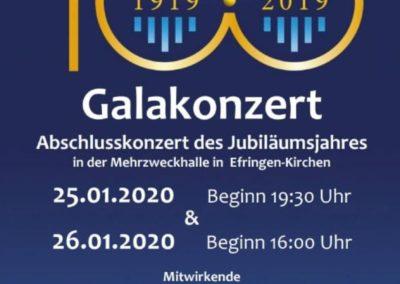 Carmina Burana (25.01.2020 / 26.01.2020 / konzertant / Europa / Deutschland / Efringen-Kirchen)