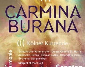 Carmina Burana (01.03.2020 / konzertant / Deutschland / Köln)