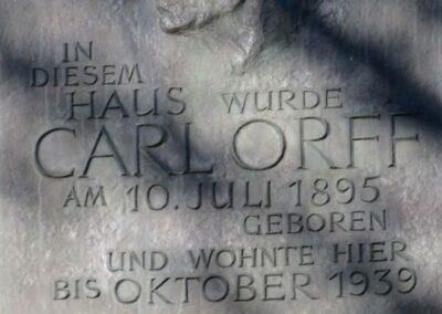 Weltenzauberer Carl Orff (08.10.2021, 13.11.2021 / musikalischer Spaziergang / Europa / Deutschland / München)